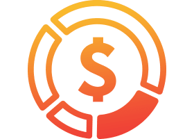 Service Direct icon of cost savings