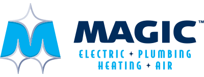 Magic Electric Plumbing Heating & Air Logo