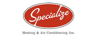 Specialize Heating & Air Conditioning Logo