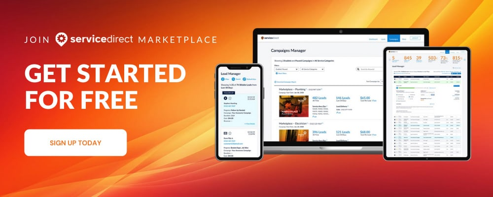 Join Service Direct Marketplace
