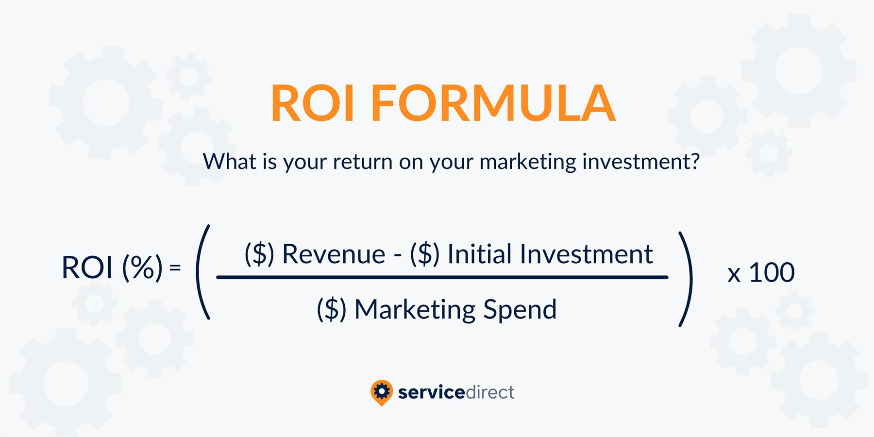 Marketing Return on Investment Formula