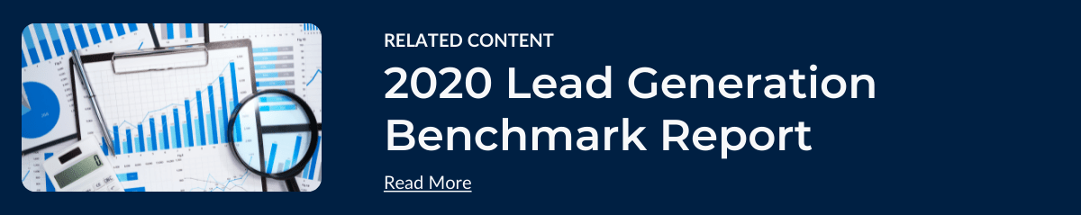 2020 Marketing Lead Generation Bench Report