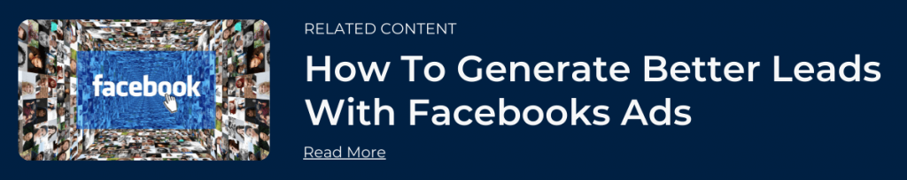Generating Better Home Improvement Leads Through Facebook - Related Content