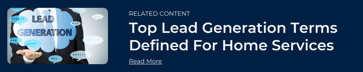 Contractor Lead Generation Terms - Related Content